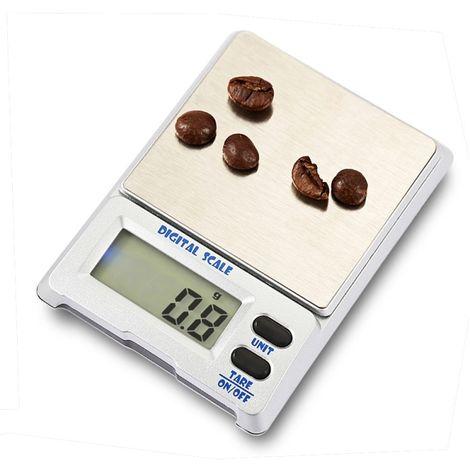 Balance pour bijoux 1000g x 0.1g dispositif électronique d'équilibre d'échelle de de grande précision avec l'écran d'affichage à