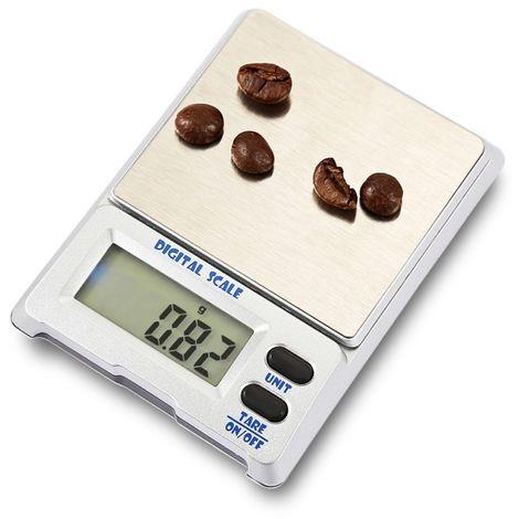 Balance pour bijoux 500g x 0.01g dispositif électronique d'équilibre d'échelle de de Digital de grande précision avec l'écran d'