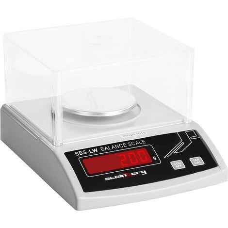 Balances De Précision Professionnelles - 200 G / 1 Mg D'Affichage À Led