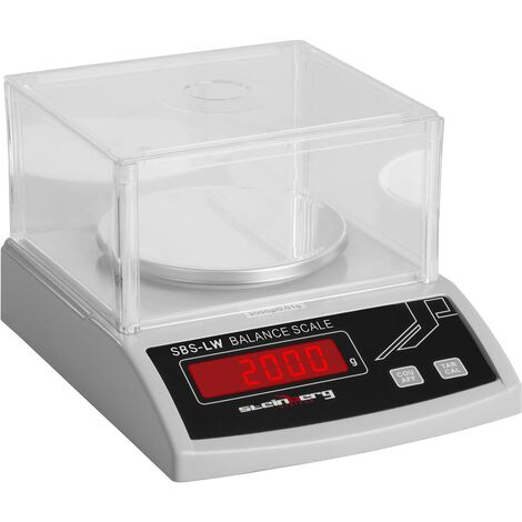 Balances De Précision Professionnelles - 2000 G / 1 Mg Led Scale Scale Libra