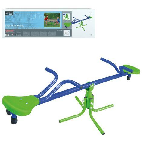 Balancín infantil para exterior Aktive Sports 151x54x56 cm (54082)