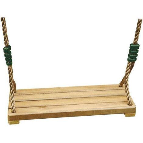 Balançoire bois pour portique 3 m - 3,5 m Luxe Trigano