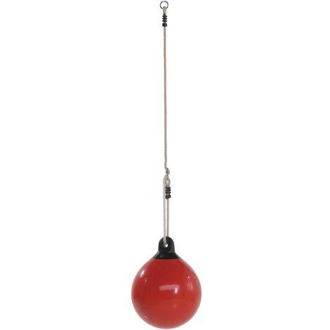 Balançoire bouée rouge, 410 x 509 mm