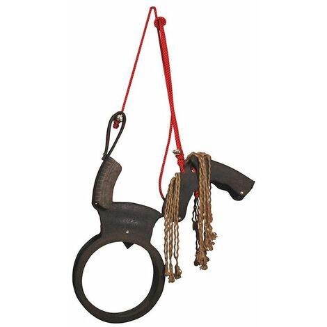 Balançoire cheval - 84,5 x 16 x 104 cm - Nylon et rubber - Livraison gratuite