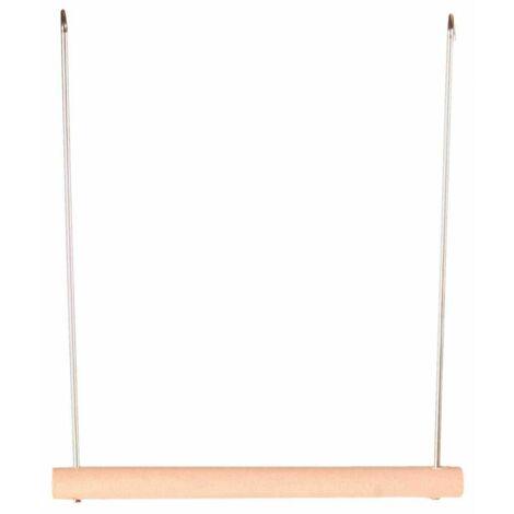 Balançoire, en métal/bois - 12 × 13 cm