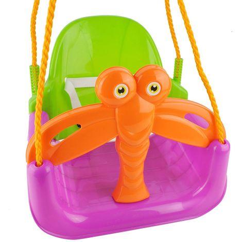 Balançoire évolutive 3 en 1 siège bébé et enfant