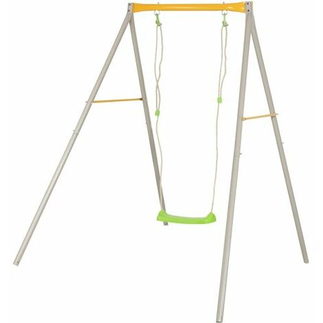 Balançoire métal ALLEGRO Trigano 1.90 m. 1 enfant.