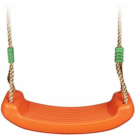 Balançoire plastique orange TRIGANO pour portique 2,00 / 2,50 m.