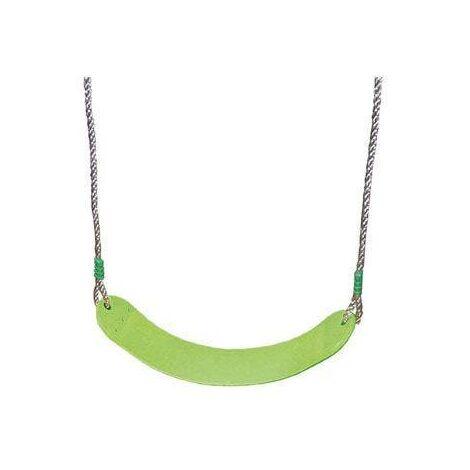 Balançoire plastique souple vert pour portique 2 m - 2,5 m Trigano