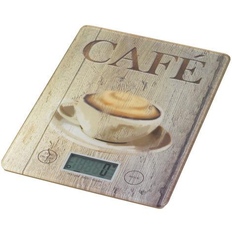 Balanza de cocina Café WENKO