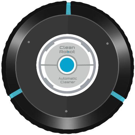 Balayeuse de robot nettoyeur de poussiere Smart Floor Cleaning, noir