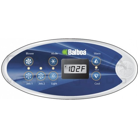 Balboa VL702S - Clavier de commande pour spa