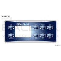 Balboa VL801D -Clavier de commande pour spa - Choix de la membrane VL801D