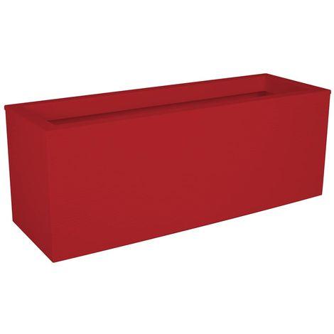 Balconnière rectangulaire Graphit Up 59 x 19,5 x 22,8 cm - 25 L - Rouge rubis