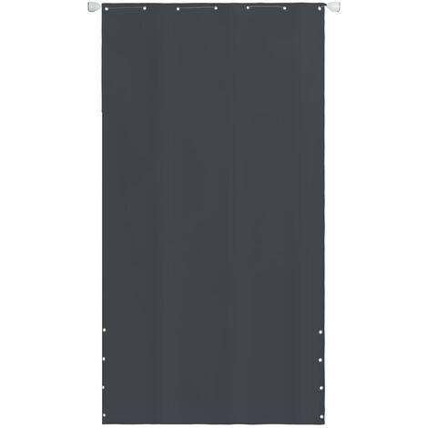 Balcony Screen Oxford Fabric 140 x 240 cm Grey