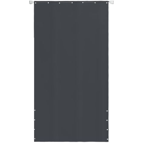 Balcony Screen Oxford Fabric 140 x 240 cm Grey