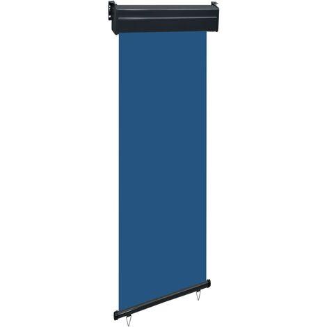 Balcony Side Awning 60x250 cm Blue