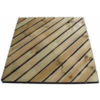 Baldosa de pino Diagonal
