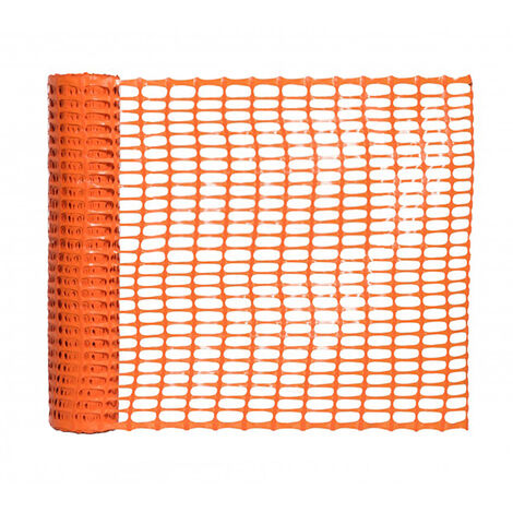 Balisage de chantier Orange - Hauteur 1 m - Longueur 50 m