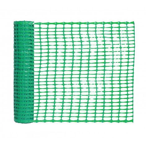 balisage de chantier vert hauteur 1 m longueur 50 m. Black Bedroom Furniture Sets. Home Design Ideas