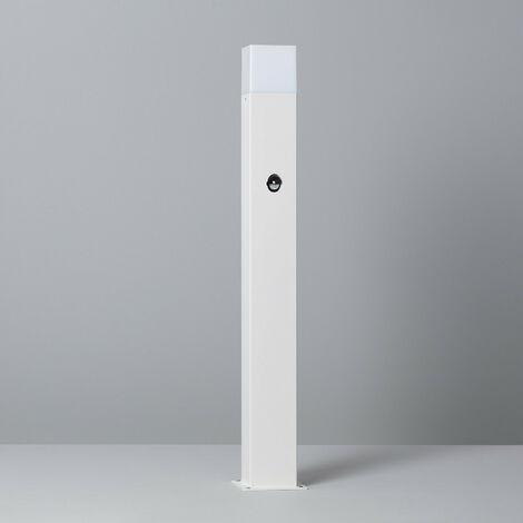 Baliza Augusta Blanca con Detector de Movimiento PIR Blanco