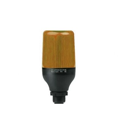 Baliza LED 24V Luz Fija AMBAR