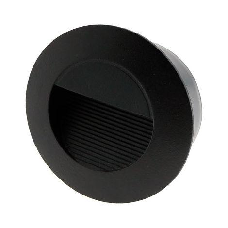 Baliza LED Circular Empotrable 3W IP54 Blanco Cálido 3000K