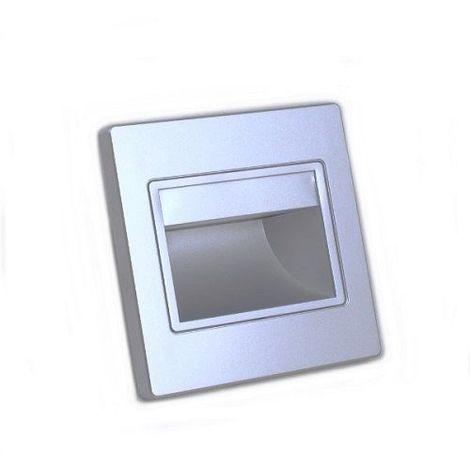 Baliza led color plata 1.5W