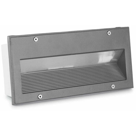 Baliza LED Empotrable en Pared Micenas 5.5W IP65 LEDS-C4 05-9832-34-CL
