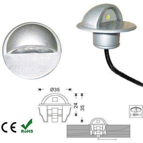 Baliza LED empotrable IP67 12V-DC 0.4W