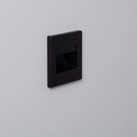 Baliza LED Randy Acabado Negro 1.5W
