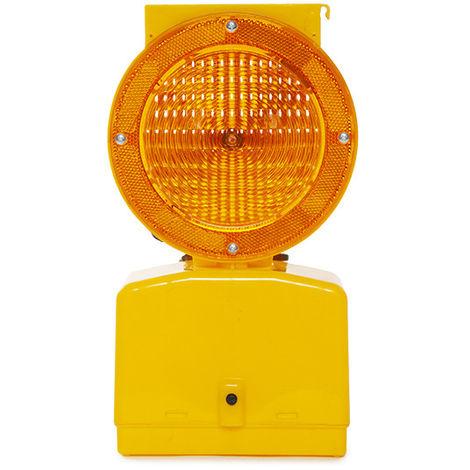Baliza Solar LED Señalización - Amarillo LK-BSL-2-Y (LK-BSL-2-Y)