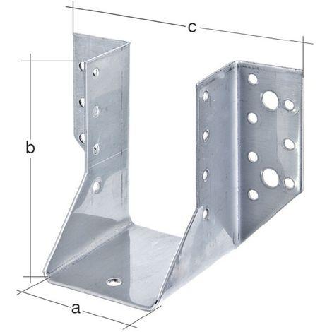 Balkenschuh Typ A 60x100mm sendzimirverzinkt