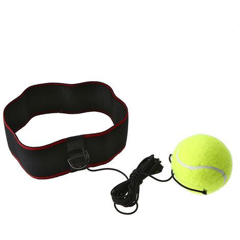 Ball banda boxeo Reflex Entrenamiento de velocidad ajustable para el reflejo de boxeo Ejercicio mejorar la formacion a las reacciones y la velocidad del boxeo Gym Equipment amarillo 5