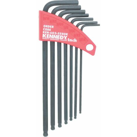 Ball Driver L-Wrenches - Inch Sets