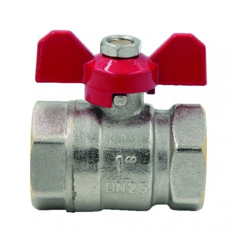 Ball valve FF butterfly handle PN 40 3/4?