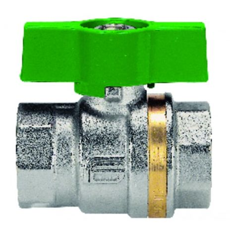 Ball valve FF T-handle PN 40 NF 3/8? - EFFEBI SPA : 0824V403NF