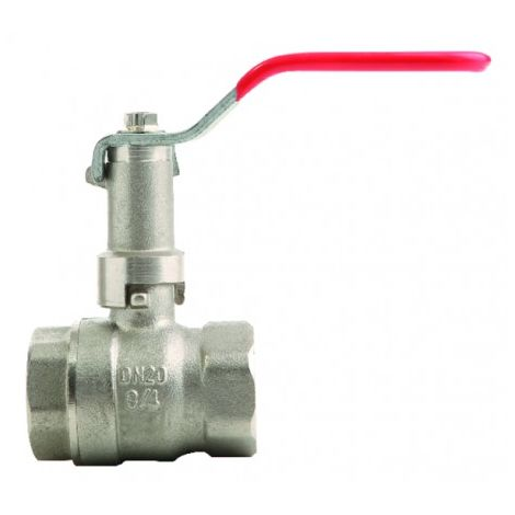 Ball valve FF with extended lever PN 40 1 1/4?