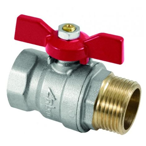 Ball valve MF butterfly handle 1/2? - RBM : 8870432