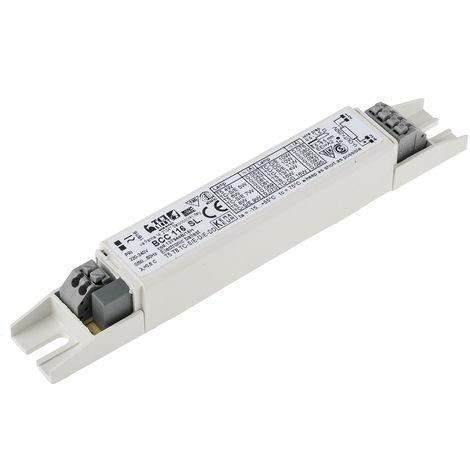 Ballast d'éclairage Electronique 1 x 4 → 16 W (fluorescent), 5 → 16 W (CFL)