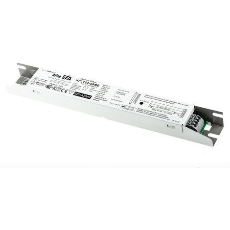 Ballast d'éclairage Electronique 1 x 54 (T5 HO) W, 55 (TC-L) W, 58 (T8) W pour lampe Fluocompacte, fluorescent