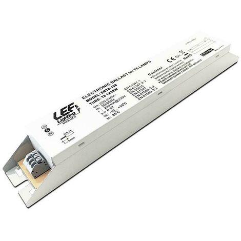 Ballast électronique pour lampes fluorescentes t8(g13) 2x36w ebt8-236