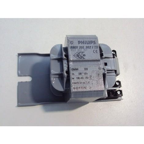 Ballasts imprégnés 35W MK4 BMH pour lampes à decharge bmh 35 l302 its 230v 50hz bc1 PHILIPS 739766