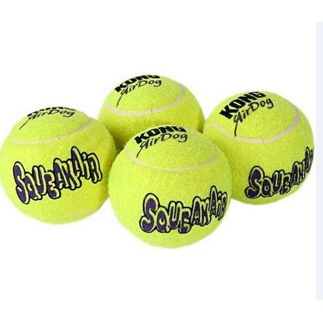Balle de tennis Kong pour chiens Désignation : Balle - 10.5 cm de diamètre Kong Company 750643