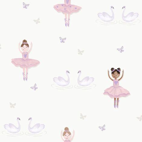 Ballerina Wallpaper Cream Holden 12461