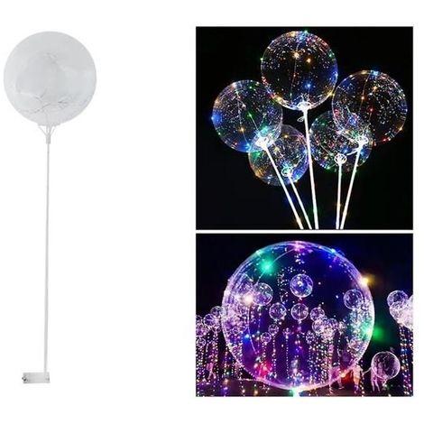 Ballon brillant 35cm avec le mariage de la batterie bâton coloré LED plastique anniversaire 5421