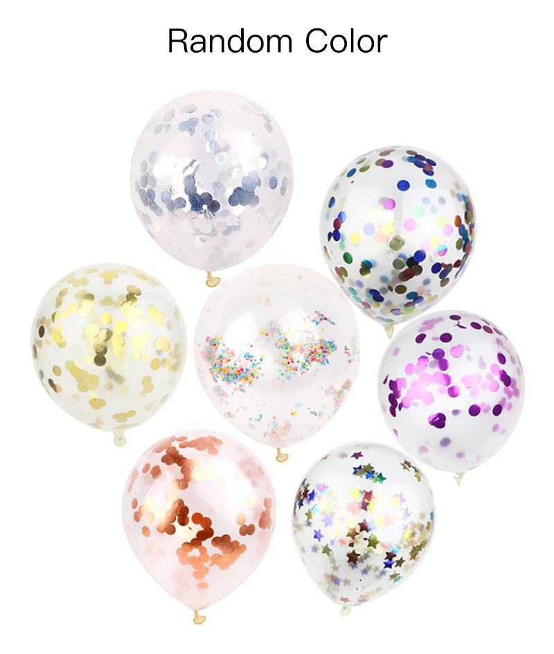 Ballon De 12 Pouces, Decoration De Mariage De Fete D'Anniversaire, Couleur Aleatoire, 1Pc
