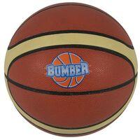 Ballon de Basket Bumber Ø24,5 avec embout de pompe et filet de transport - Choix couleurs