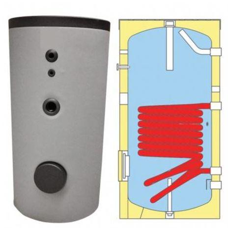 Ballon échangeur 200 litres mixte pour eau chaude sanitaire