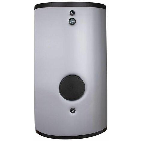 Ballon ECS pour pompe à chaleur et capteur solaire emaillé 1000 litres avec 2 échangeurs